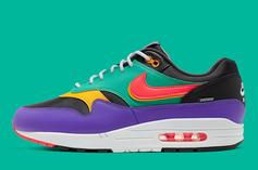 """Nike Air Max 1 """"Windbreaker"""" Brings The Vintage 90s Vibes: Official Photos"""