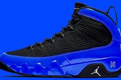 "Air Jordan 9 ""Racer Blue"" Rumored For 2020 Release: First Look"