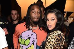 Cardi B & Offset Reportedly Drop $100,000 On Kulture's Birthday Bling