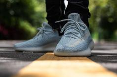 """Adidas Yeezy Boost 350 V2 """"Cloud White"""" Coming Soon: On-Foot Photos"""