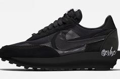 Sacai x Nike LDWaffle To Drop In All-Black & All-White Models: Details