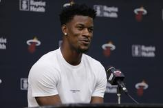Jimmy Butler Gives Hilarious NSFW Response To Overzealous Fan: Watch