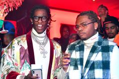 """Young Thug, Gunna & Wheezy Bring Slime To Jimmy Fallon's """"Tonight Show"""""""