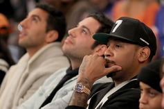 """Stephen Jackson: NBA Teams Received A Mass Text, """"Don't F*ck With Carmelo"""""""