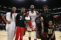 Dwyane Wade Reacts To The Criticism Thrown At His Son, Zion: Watch