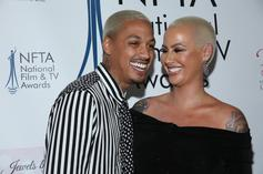 Amber Rose's Son Sebastian Spends Quality Time Dancing With A.E.