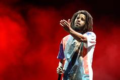 """J. Cole Says He Was Sick Of Rapping About Himself After """"2014 Forest Hills Drive"""""""