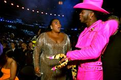 Lil Nas X Explains Why He Looks Bored In The Strip Club With Lizzo
