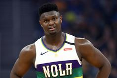 Zion Williamson Bullies The Warriors With Insane Strength: Watch