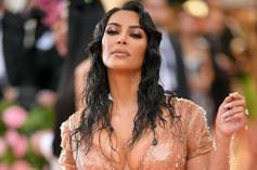 Kim Kardashian's Impossibly Small Waist Has Fans Asking Where Her Organs Are