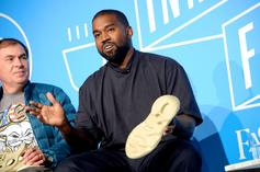 Kanye West Gives A Preview Of His Yeezy Collab With Gap