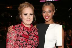 """Adele Shares A Selfie & Thanks Beyoncé For Her Art While Watching """"Black Is King"""""""