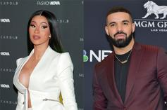 """Cardi B & Megan Thee Stallion's """"WAP"""" Likely To Stave Off Drake For #1 Spot"""