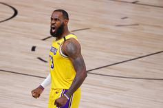 LeBron James Embraces Viral Meme Of Him Yelling At Referee