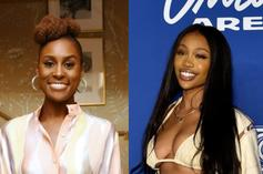 """SZA Jokingly Tells Issa Rae She Doesn't Drink Because She Ends Up """"Crying & Sh*t"""""""
