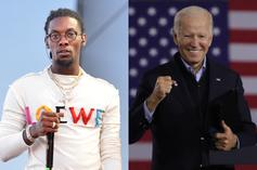 Offset's Jewelry Seems To Get Joe Biden's Approval