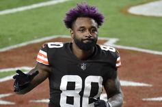"""Jarvis Landry Channels Travis Scott's """"Astroworld"""" With New Cleats"""