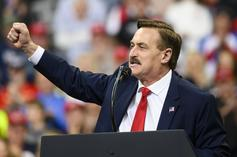 MyPillow's Mike Lindell Explains Wild Election Fraud Theory At Rally For Donald Trump