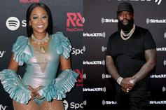 """Trina & Rick Ross Hugged Up At """"Rap Snacks"""" Launch Party"""