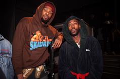 "Kevin Durant Says ""No One Is More Authentic"" Than Freddie Gibbs"