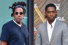 Jay-Z Got Mad At Damson Idris For Topless Zoom Call