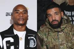 """Charlamagne On Drake Going 1, 2, 3: """"He Cheated"""""""