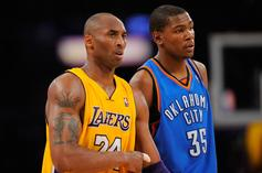 """Kevin Durant Remembers Beefing With Kobe Bryant: """"He Didn't Even Know"""""""