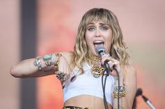 """Miley Cyrus Shows Off With Lil Nas X's """"Satan Shoes"""""""
