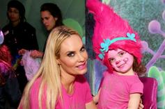 Coco Austin & Daughter Chanel Adorably Pose In Matching Bathing Suits