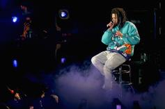 J. Cole Links Up With Kevin Durant And Talks About Pro Basketball Debut