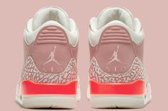 "Air Jordan 3 ""Rust Pink"" Release Date Revealed: Photos"