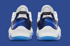 """PlayStation x Nike PG 5 """"PS5"""" Surfaces In Blue Colorway: Photos"""
