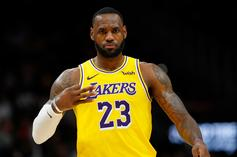 """LeBron James On AD Injury & Lakers: """"These Shoulders Were Built For A Reason"""""""
