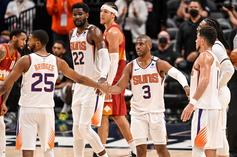 Suns Locker Room Goes Full Party Mode After Nuggets Sweep