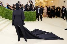 Kim Kardashian Shares Memes About Being Criticized Over Met Gala Look