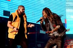 """Drake & Future Perform """"Way 2 Sexy"""" At J. Cole Concert"""