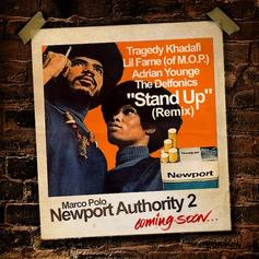 Marco Polo - Stand Up (Remix) Feat. Tragedy Khadafi, Lil Fame, Adrian Younge & The Delfonics