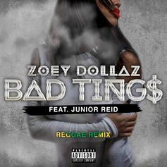 Zoey Dollaz - Bad Tings (Remix) Feat. Junior Reid