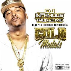 "DJ Infamous Links Up With YFN Lucci & Blac Youngsta On ""Gold Medals"""