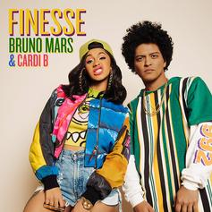 "Cardi B Jumps On The Remix To Bruno Mars' ""Finesse"""