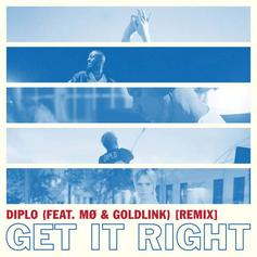 "Goldlink Jumps On The Remix To Diplo & MØ's ""Get It Right"""