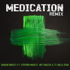 "Damian Marley Calls On Wiz Khalifa & Ty Dolla $ign For A Celebratory 4/20 Remix To ""Medication"""