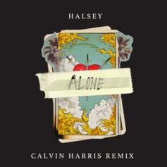 "Halsey's ""Alone"" Gets A Calvin Harris Remix"