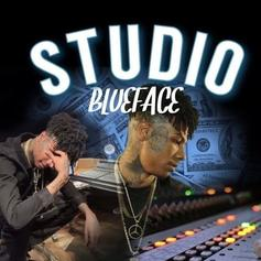 "Blueface Stays Locked In The ""Studio"" On His New Track"