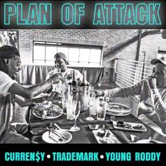 "Curren$y, Trademark Da Skydiver & Young Roddy Go Off On ""Plan Of Attack"""