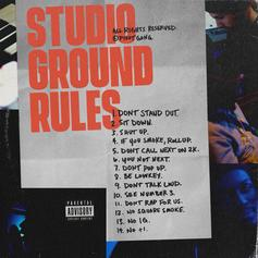 "Saba & The Pivot Gang Lay Down Some ""Studio Ground Rules"""