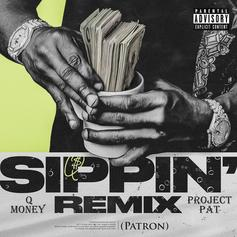 """Q Money Taps Project Pat For His Three 6 Tribute, """"Sippin (Patron)"""" Remix"""