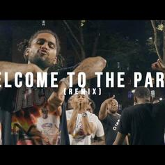 """Dave East & Kiing Shooter Remix Pop Smoke's """"Welcome To The Party"""""""