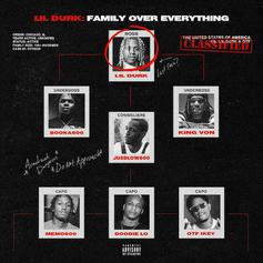 """Lil Durk & Only The Family Drop Off """"Family Over Everything"""" Ft. G Herbo, Polo G, NLE Choppa, & More"""