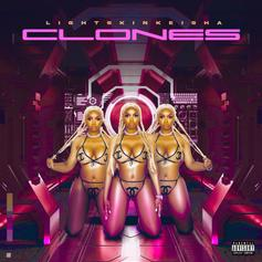 """LightSkinKeisha Unleashes Her New Project """"Clones"""" Ft. Blac Youngsta"""